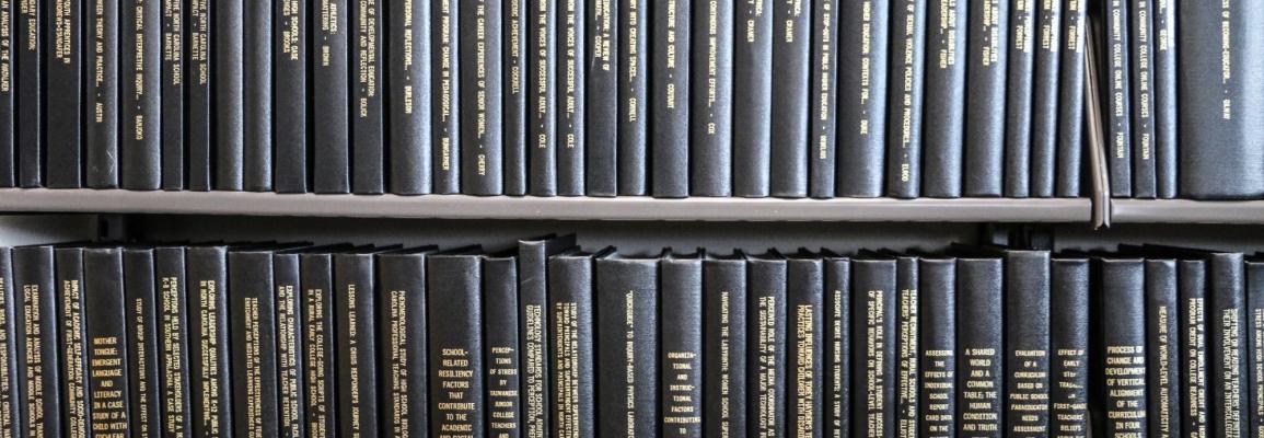 Bookshelf of dissertations