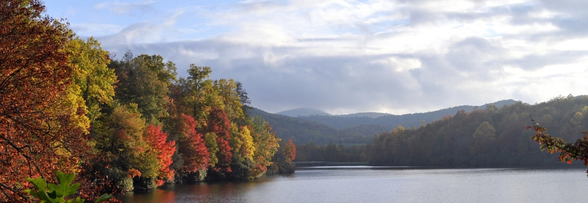 price lake in autumn