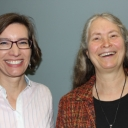 Linda Coutant and Karen Caldwell